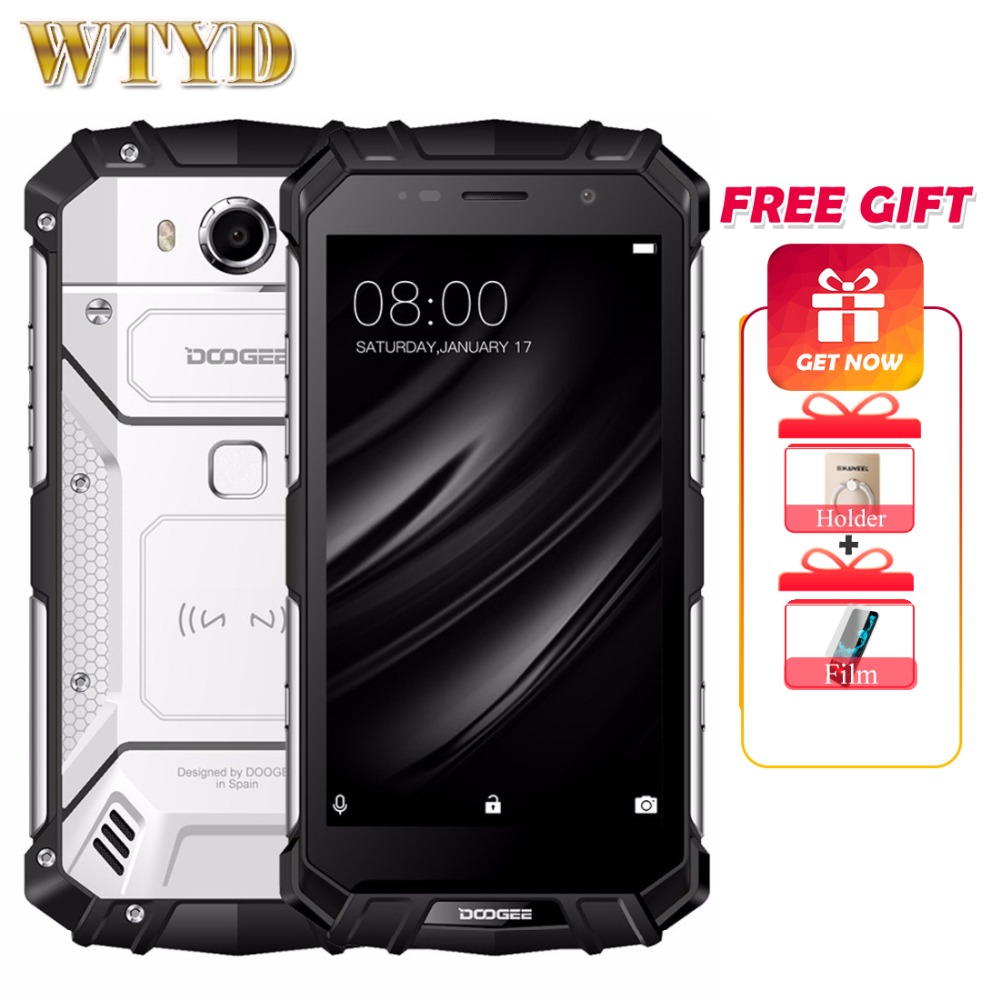 DOOGEE S60 Lite 4G Mobile Phones Android 7 0 4GB 32GB Octa Core Smartphone IP68 Waterproof