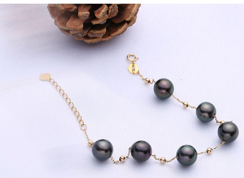 gold pearl bracelets 44