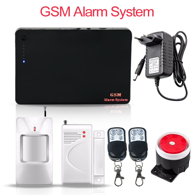 Saful wireless GSM alarm system IOS & android APP control home security Wired Siren Kit SIM Alarm alarm system PIR Motion Sensor allarme gsm touch wireless app control gsm home alarm system burglar access wired siren door sensor pir detector 433mhz k9d