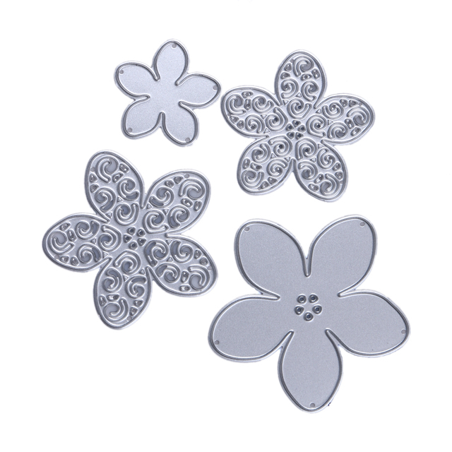 10 patterns steel metal flower cutting dies stencils for diy 10 patterns steel metal flower cutting dies stencils for diy scrapbookingphoto album decorative embossing mightylinksfo Image collections