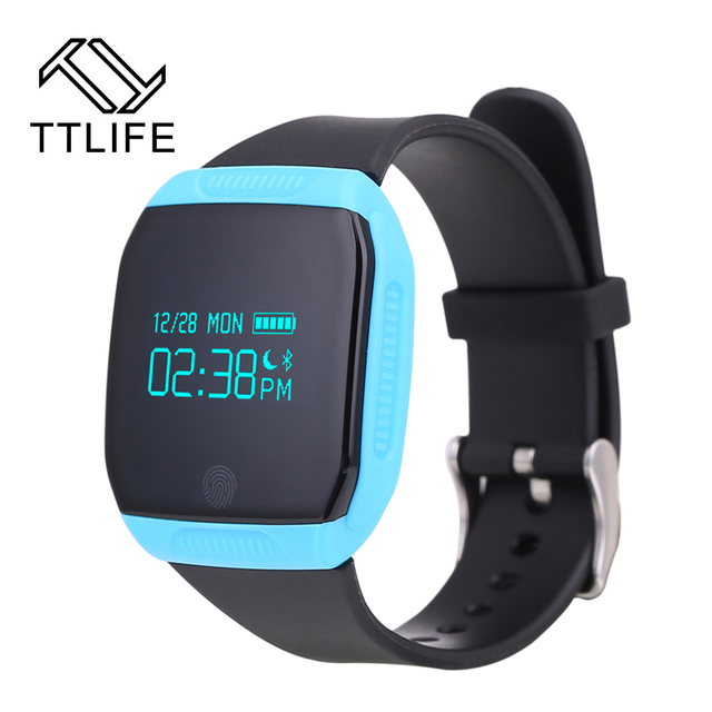 Newest E07S Bluetooth 4.0 Sports Smart Bracelet IP67 Waterproof Fitness Tracker Smartband Call Reminder for Android iOS Phones