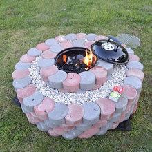 Garden DIY Plastic Mold Path Pavement Model Concrete Stepping Stone Cement Brick Maker RT99 стоимость