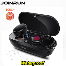 Touch two wireless Bluetooth TWS Earphone Headset IPX5 waterproof True Touch Headset with power bank for phones PC Twins Earbuds