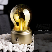 LED Night Light USB Charging  Bedroom Coffee Bar Atmosphere  Classic Bulb Night Lamp