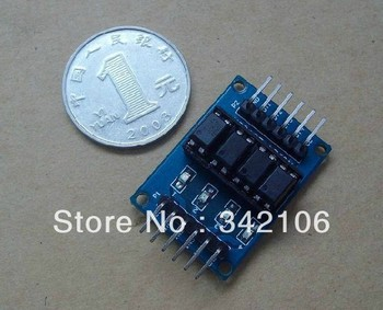 Free Shipping! 10pcs Four optical isolation module / optical isolation module / opto isolation module sensor