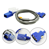 Medical Devices Compatible Nellcor DOC 10 3M 14 Pins SpO2 Adapter Extension Cable Fit For Adult