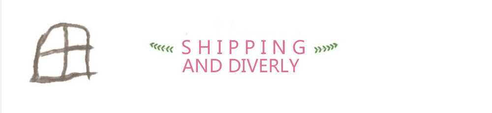 Shipping and Dilivery