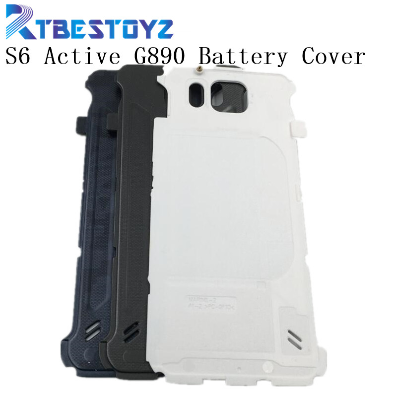 RTBESTOYZ Battery Back Door Rear Cover For Samsung Galaxy S6 Active G890 Housing Door Battery Cover image