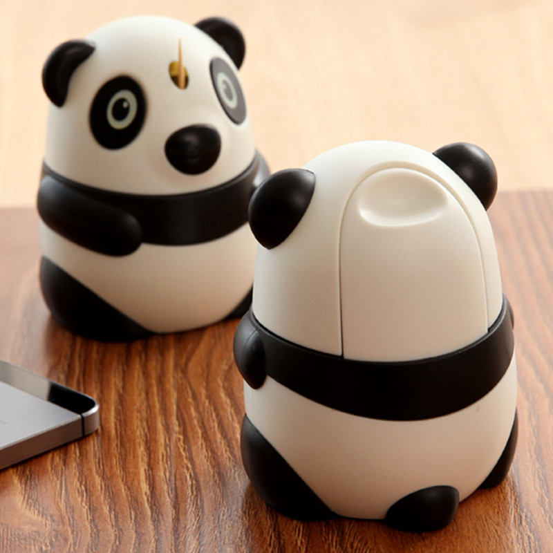 Cute Panda Shape Automatic Toothpick Holder Fashion Toothpick Box Decoration Table Accessories,Free Shipping