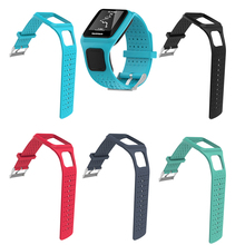 OOTDTY Silicone Replacement Wrist Band Strap For TomTom Runner1 Multi Sport GPS Watch