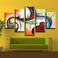 5 peça 100% artesanais de arte decoração pinturas sobre tela pintura a óleo acrílico pintura arte moderna sala imagem