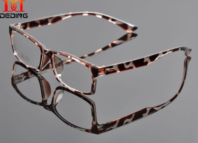 2015 NEW  TR90 leopard Eyeglasses Optical FRAME Women Multicolored  Full Frame Glasses Student Myopia Glasses Frame OculosDD0921