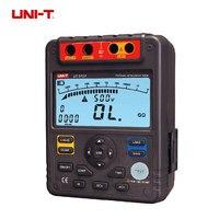 UNI T UT513A Digital Insulation Resistance Tester Megohmmeter Voltmeter 5000V 1000M Ohm W USB Interface Earth