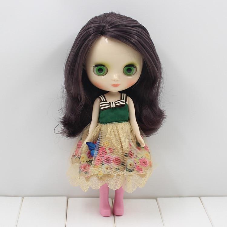 Middie Blythe Doll Grey Hair 20cm 10