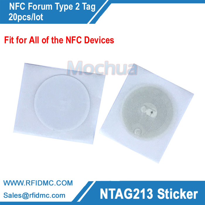 Ntag213 lable, NFC sticker with adhesive label, NFC label