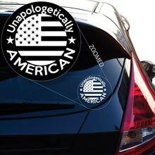 Unapologetically amerikanischer Vinylabziehbild-Aufkleber