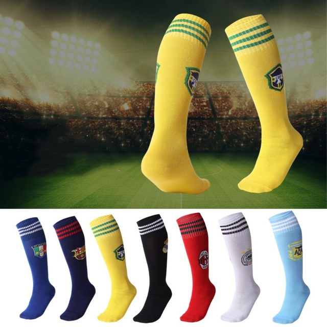 Children Professional Sports Football Sock Kids Europe Soccer Club Knee High Breathable Training Outdoor Running Socks for Boy
