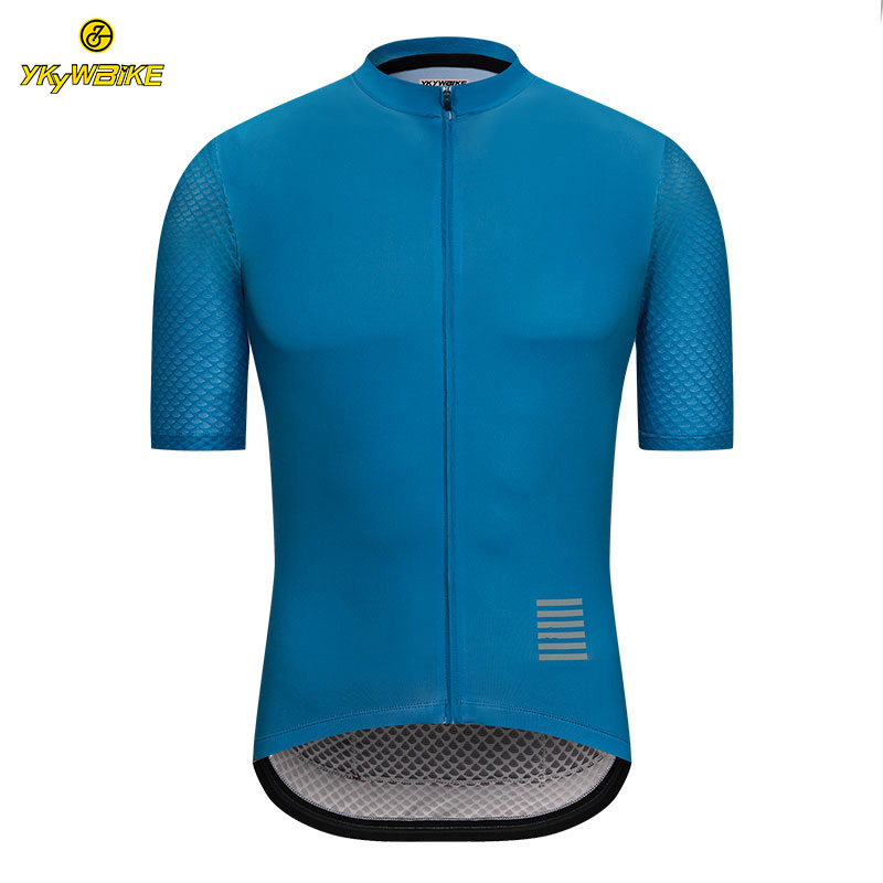 YKYWBIKE Men Cycling Jersey 2019 Short Sleeve MTB Bicycle Clothing High Quality Riding Bike Sportswear Clothes Ropa Ciclismo