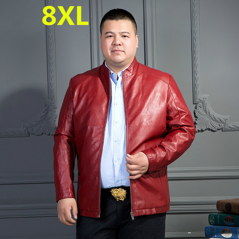 black red suit Jackets 10XL 8XL 6XL 5X blazer Men jacket Casual Coats Autumn Leather Clothing Bomber college Male