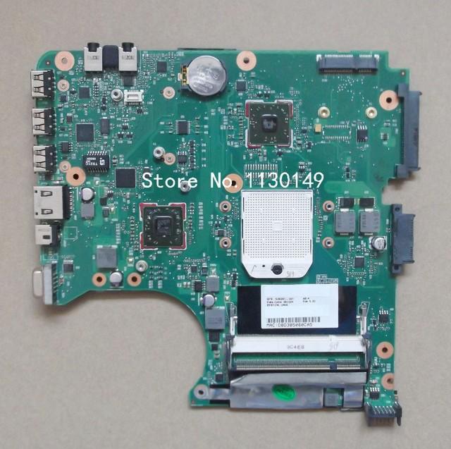 Envío libre 538391-001 para hp compaq 515 615 cq515 cq615 placa madre del ordenador portátil probó muy bien