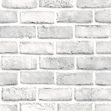 3D White Brick Stone Rustic Effect Self-adhesive Wall Sticker Home Decor simulation wall sticker home room decoration