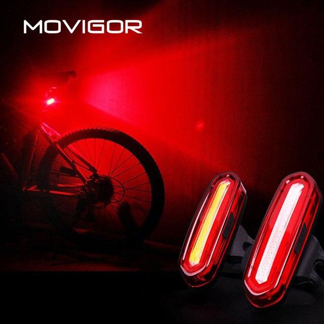 120 lúmenes de bicicleta LED de luz impermeable luz de la bicicleta USB recargable camino de MTB bicicleta cola luz de la noche de ciclo de advertencia de la linterna