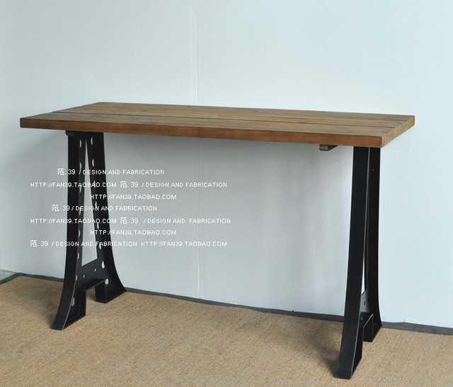 French Country Furniture Export Table Loft Style Dining Desk Computer Bar