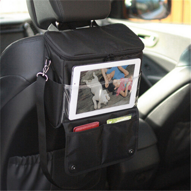Multi-functional Car Back Seat Isothermic Storage Bag Hanging Bag Car Hanging Bag in the Car Pocket car organizers storage bins