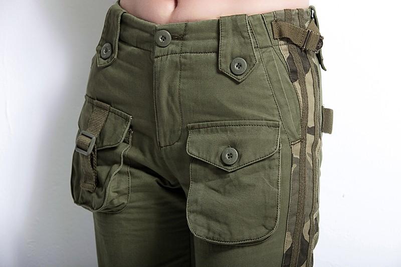 Multi-Pocket Green BigBoz.Biz Military 16