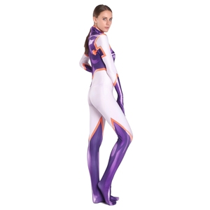 Image 5 - 3D Printing Spandex Mt.Lady Mount Costume My Hero Academia Cosplay Costume Halloween Party Zentai Bodysuit For Lady Girls Female