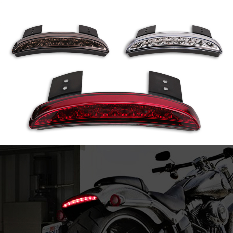 Motorcycle Racer Rear Fender EdgeTail Light For Harley Touring Sportste 883 XL883N XL1200N Motorcycle Fender Tail Light