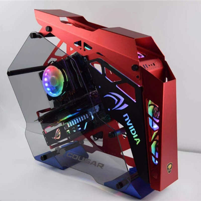 COUGAR Conquer PC CASE Sideboard 5V RGB AURA Light Backplate Hollow Style +  Power supply Backplane