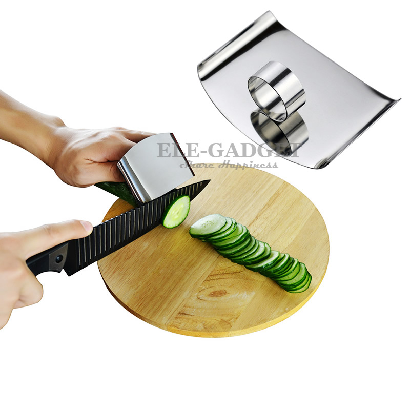 New Cut-Proof Stainless Steel Ring With Shield For Cutting Fruit Meat Hands Protection Food Grade Anti-cutting Tool