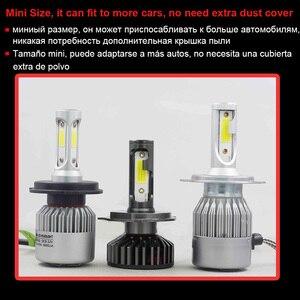 Image 5 - YHKOMS Canbus 車のヘッドライト LED H4 H7 3000 18K 4300 18K 6500 18K 8000 18K LED 電球 H11 H8 H1 h3 9005 9006 880 881 H27 オートフォグライトランプ