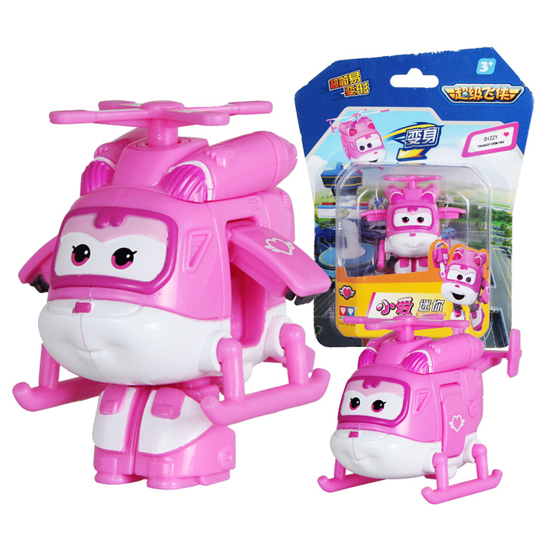 Super Wings Mini Airplane ABS Robot toys Action Figures Super Wing Transformation Jet Animation Children Kids Gift Brinquedos in Action Toy Figures from Toys Hobbies