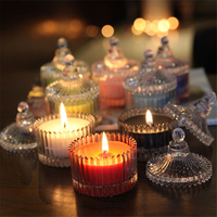 Princess Art Gift Tea Candle Party Decoration High Quality Creative Luxury Small Candles Bougie Decoratif Tea Light LKK049