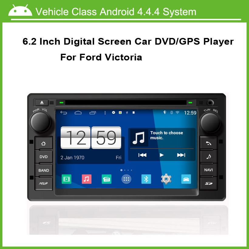 Android Car DVD Player For Ford Victoria 2008-2012 GPS Navigation Multi-touch Capacitive screen,1024*600 high resolution