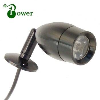 FREE SHIPPING 2W 24V 12V RV CARAVAN CAMPER WALL BEDSIDE LED LAMP