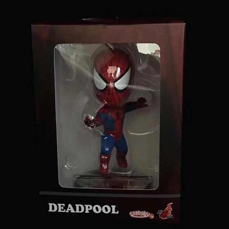 Deadpool Senhora Deadpool Spiderman COSBABY novo papel figura de ação DO PVC modelo boneca dom T5046