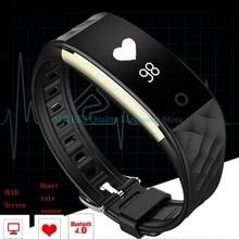 S2 Bluetooth 4.0 Смарт-часы Фитнес heartrate Мониторы браслет для смартфонов