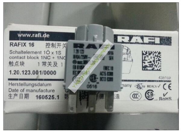 [VK] RAFI 1.20.123.001/0000 button switch RAFI switch RAFIX 16 contact control switch[VK] RAFI 1.20.123.001/0000 button switch RAFI switch RAFIX 16 contact control switch