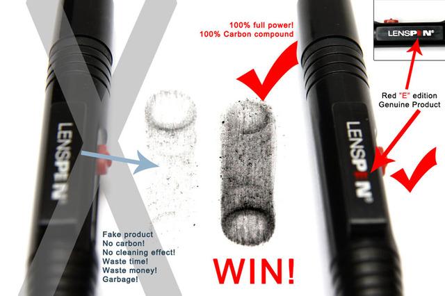 100% Original Genuine Brand LENSPEN LP-1 Dust Cleaner Camera Cleaning Lens Pen Brush kit for Canon Nikon Sony Filter DSLR SLR DV