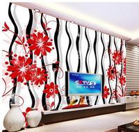 3d wallpaper custom 3d wall murals wallpaper 3 d TV setting wall loops rose images wallpaper