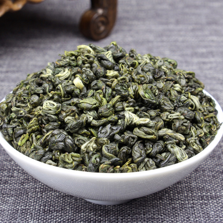 China High Moutains Bi Luo Chun tea A Weight loss Refreshing Chinese Organic Green Tea High Moutain YunWu Bi Luo Chun Tea(China)