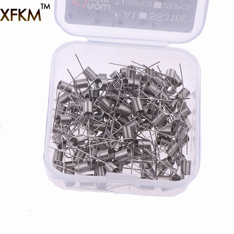 XFKM Wire-Coil Atomizer Rda Resistance-Heating-Wire Electronic Cigarette A1-Ss316l 100pcs