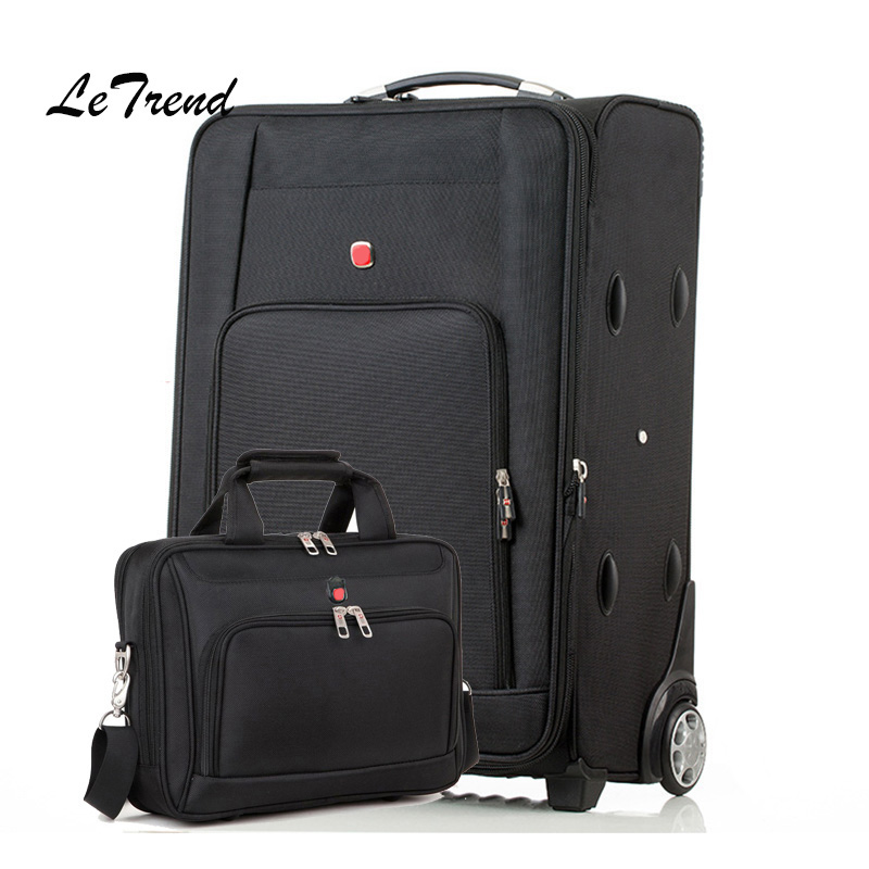 Letrend Oxford Rolling Luggage Set Casters Suitcases Wheel Men Multifunction Trolley Travel Bag Business Laptop bag Password boxLetrend Oxford Rolling Luggage Set Casters Suitcases Wheel Men Multifunction Trolley Travel Bag Business Laptop bag Password box
