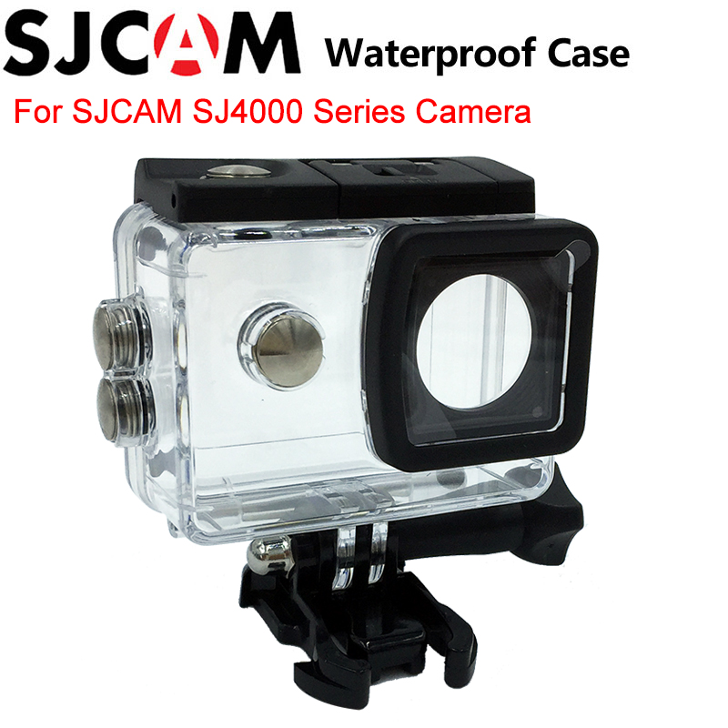 Original SJCAM Accessories sj4000 Waterproof case Underwater Housing 30M Diving for sj cam SJ4000 wifi SJ4000