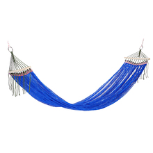 Ultralight Portable Ice Silk Anti rollover Leisure Hammock for Camping Backpacking Traveling Beach Yard Activity
