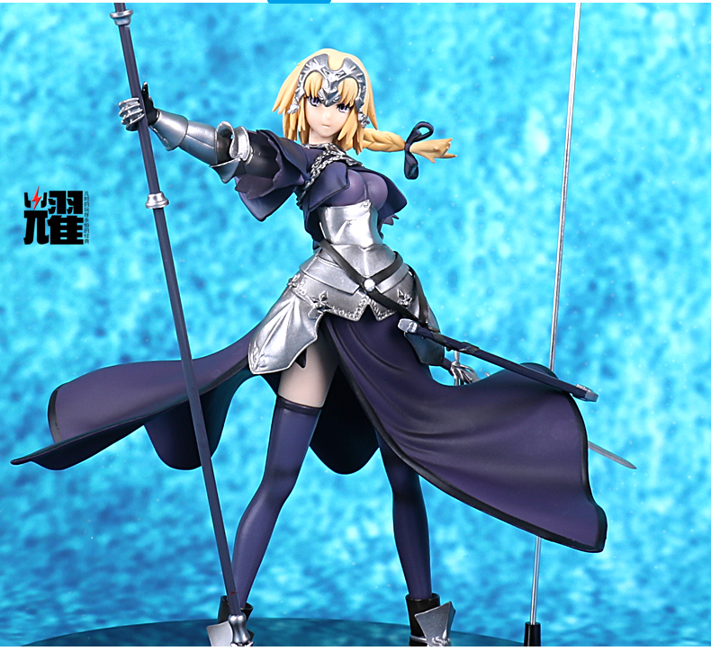35cm Fate/stay night Fate Apocrypha SABER Joan of Arc action figure model toy Anime Cartoon xmas gift collection huong anime fate stay night fate 24cm saber lili battle ver pvc action figure collectible toy model briquedos christmas gift