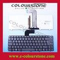 Teclado espanhol teclado do portátil para dell inspiron n4110 m4110 n4050 m4040 14r com sp layout de teclado retroiluminado nsk-dx0bw